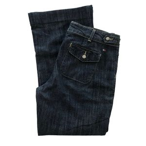 Tommy Hilfiger Dark Wash Flare Jeans
